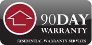 Badge 90 Day Warranty